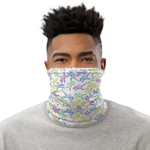 Magic Wanda Pattern Neck Gaiter