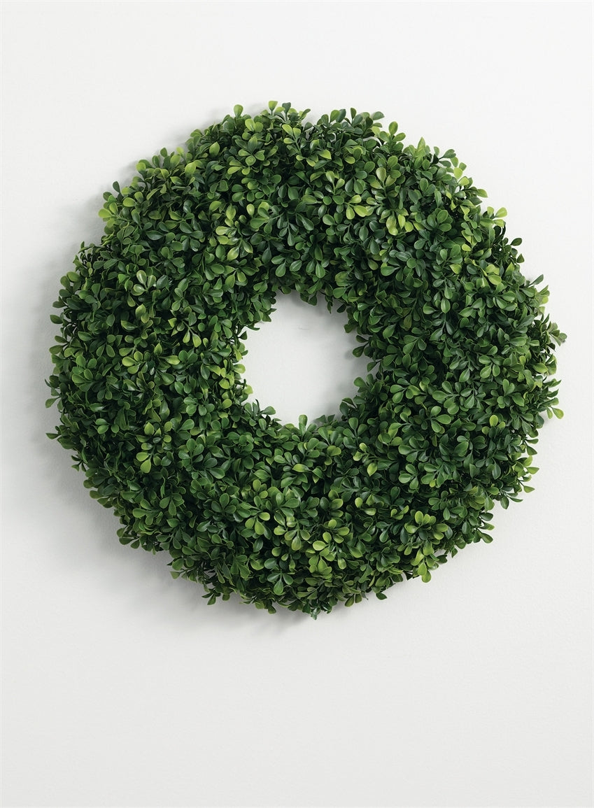 BOXWOOD WREATH (SMALL)