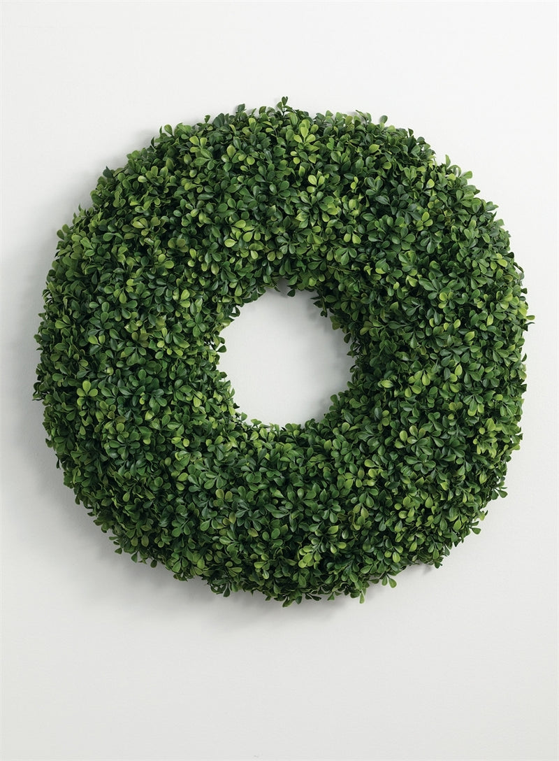 BOXWOOD WREATH (LARGE)