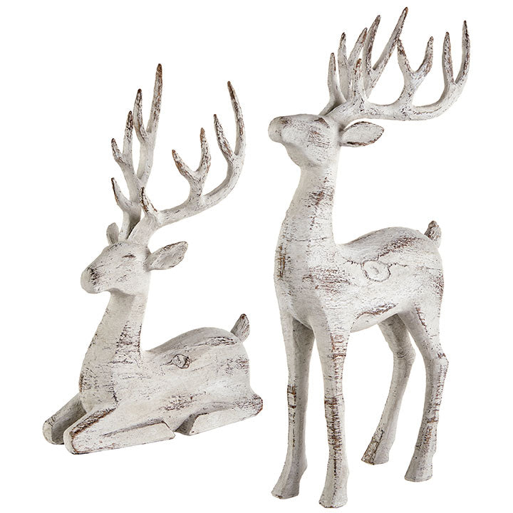 16.25 SET OF 2  REINDEER