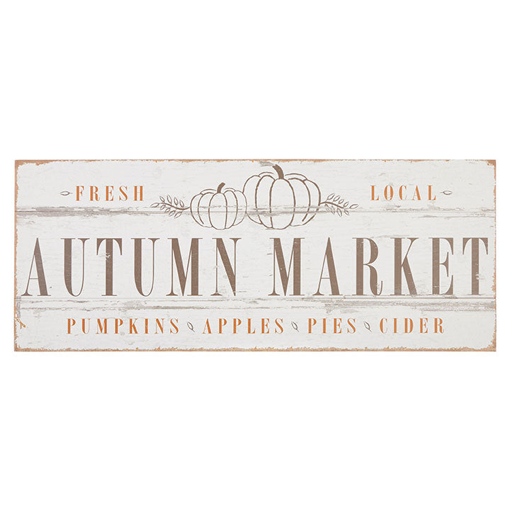 AUTUMN MARKET SIGN