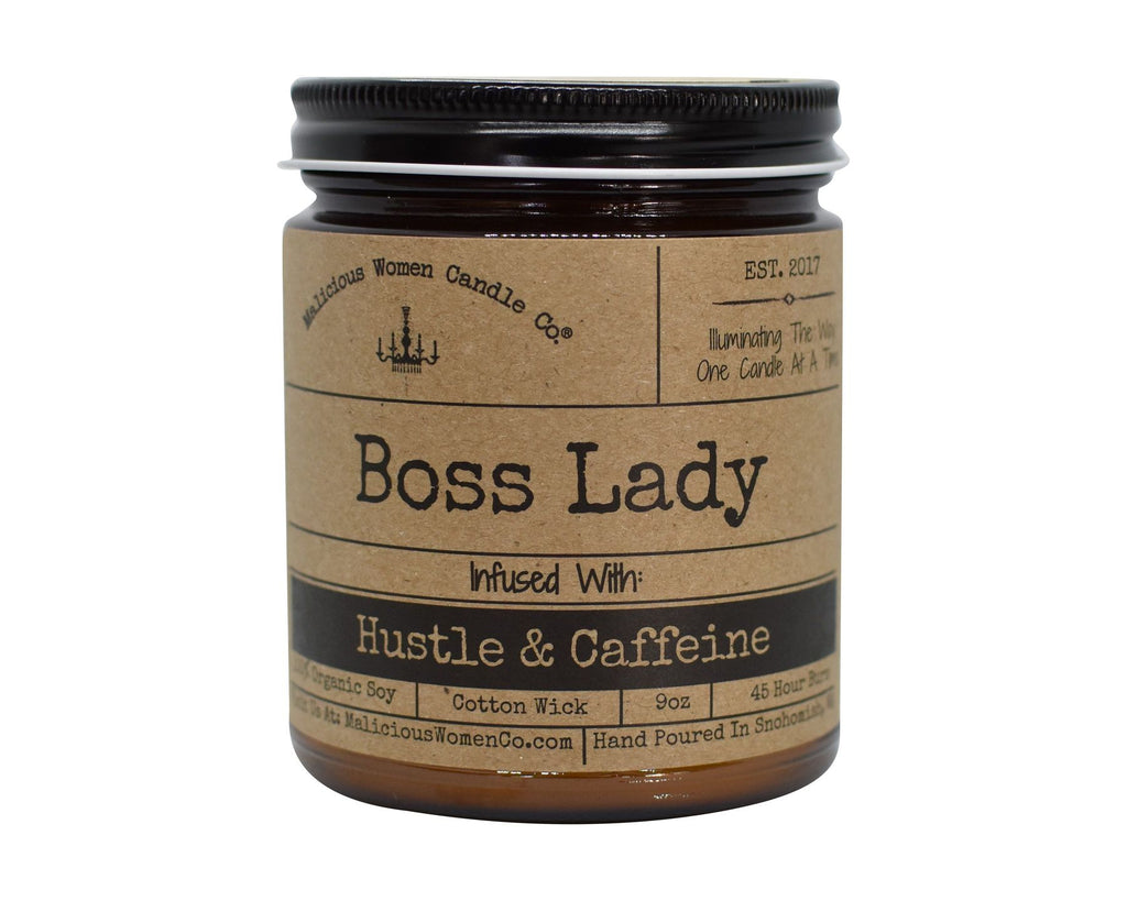 MALICIOUS WOMEN CANDLE: BOSS LADY