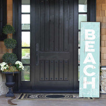 Load image into Gallery viewer, 12X48 BEACH SIGN