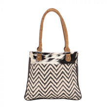 Load image into Gallery viewer, CHEVRON BLEACH SMALL & CROSSBODY BAG