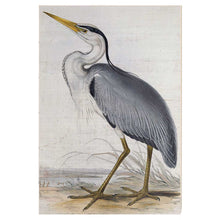 Load image into Gallery viewer, 23X34 GRAY HERON SIGN