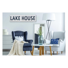 Load image into Gallery viewer, 40X10 LAKE HOUSE SIGN