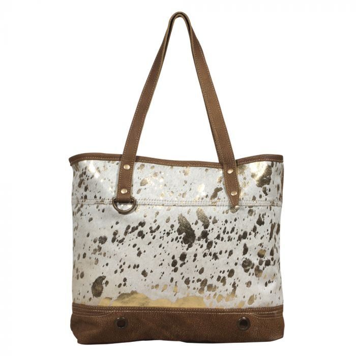 LARGISH LEATHER TOTE BAG