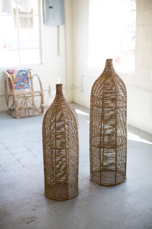 SEAGRASS AND IRON BOTTLES