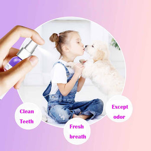 Pet Breath Freshener Spray