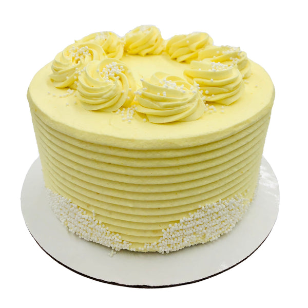 "6"" Lemon Cake (2-Layer) - Limited Edition"