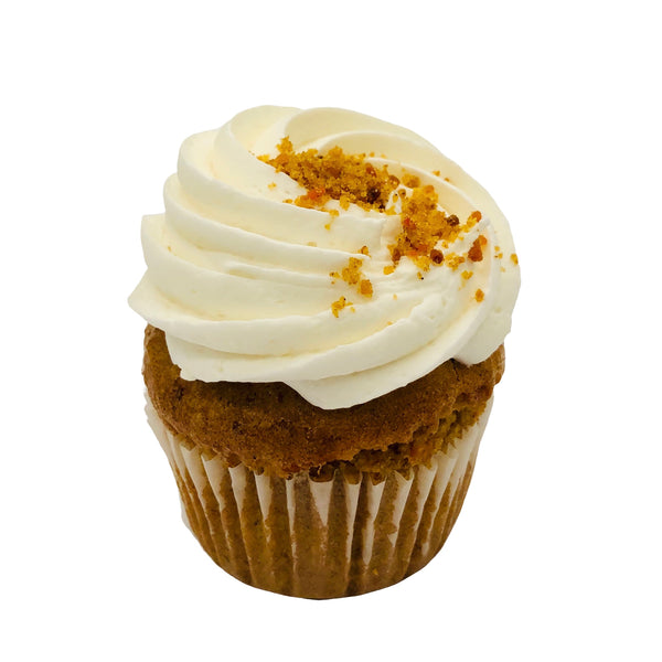 Pumpkin Cheesecake Cupcakes (4-pack) - Limited Edition