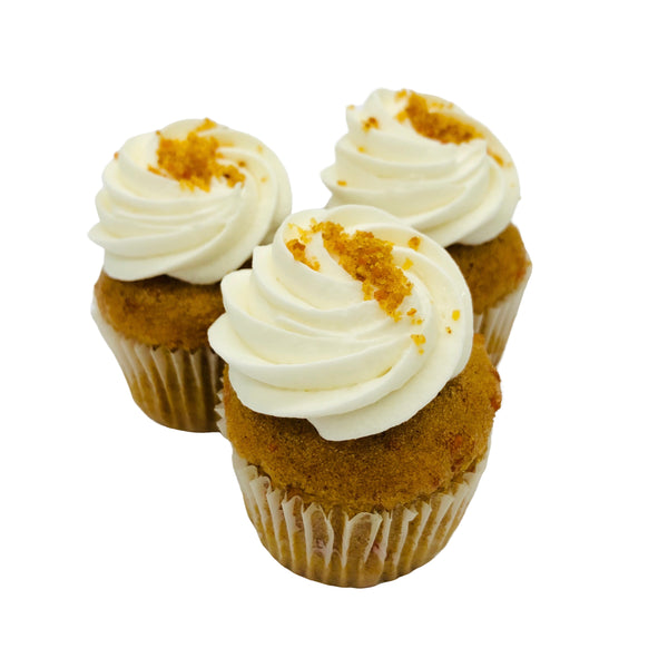 Pumpkin Cheesecake Mini Cupcakes (12-pack) - Limited Edition