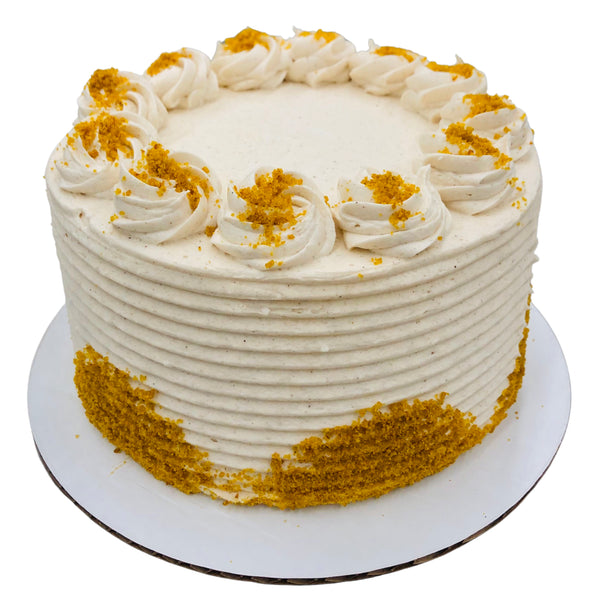 Pumpkin Cheesecake Flavored Cake - Limited Edition