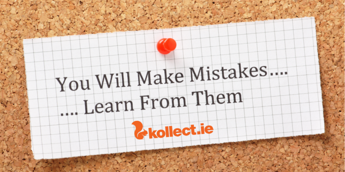Kollect mistakes