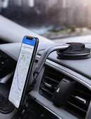AUKEY Car Phone Mount 360 Degree Rotation Dashboard Magnetic Cell Phone Holder for Car Compatible with iPhone 11 Pro Max / 11 / XS Max/XS / 8/7, Samsung Galaxy S10+, Google Pixel 3 XL, and More