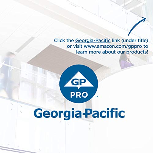 Pacific Blue Basic Recycled Hardwound Paper Towel Rolls by GP PRO (Georgia-Pacific), Brown, 26301, 800 Feet Per Roll, 6 Rolls Per Case