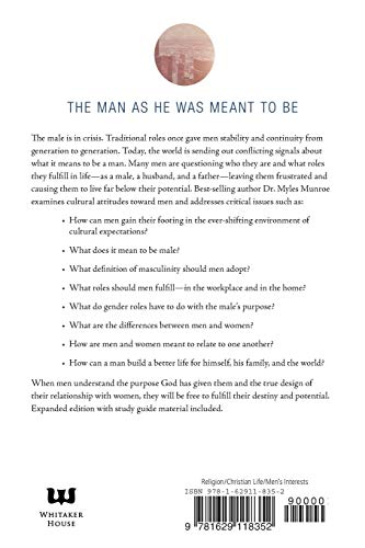 Understanding the Purpose and Power of Men: God's Design for Male Identity, Covers May Vary