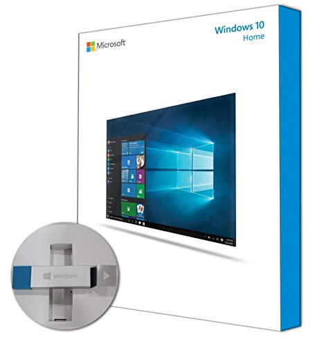 Windows 10 Home USB - 32/64 Bit - Box - 1 PC - New - 100% Quality - Fast Delivery