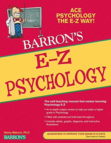 E-Z Psychology (Barron's Easy Way)