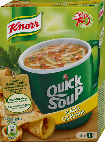 Knorr Quick Soup Flaedli 34G