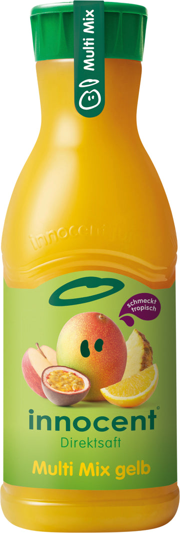 Innocent Gelber Multi Mix Saft 900Ml