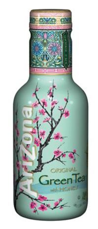 Arizona Green Tea Honey 50Cl Pet