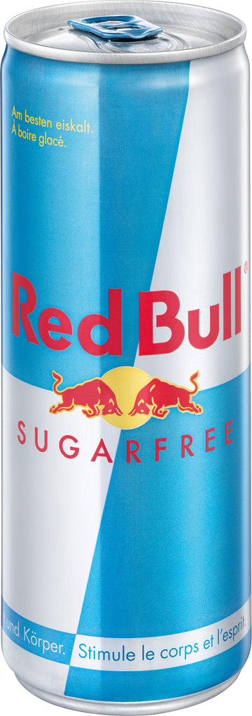 Red Bull Sugarfree Ds 25Cl