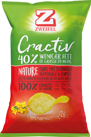 Zweifel Cractiv Chips Nature 160G