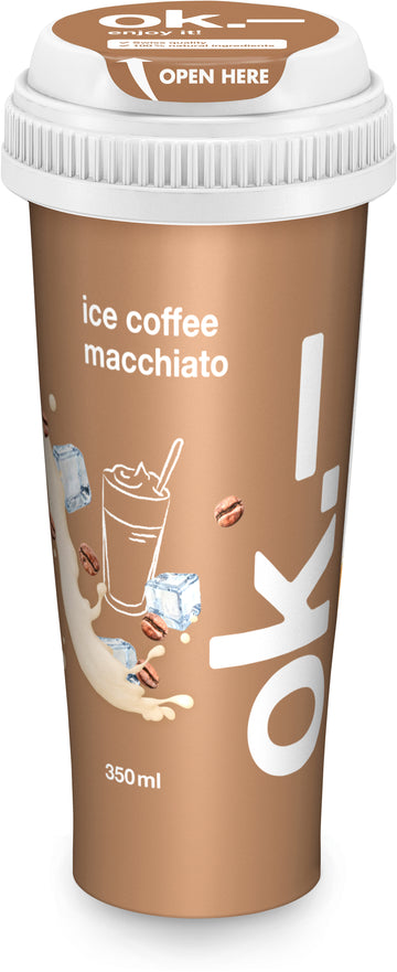 Ok.- Ice Coffee Macchiato 350Ml