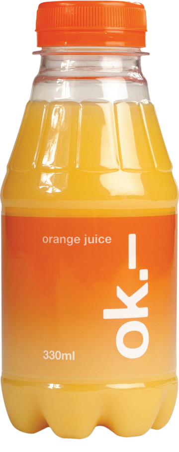 Ok.- Orangensaft 33 Cl Pet