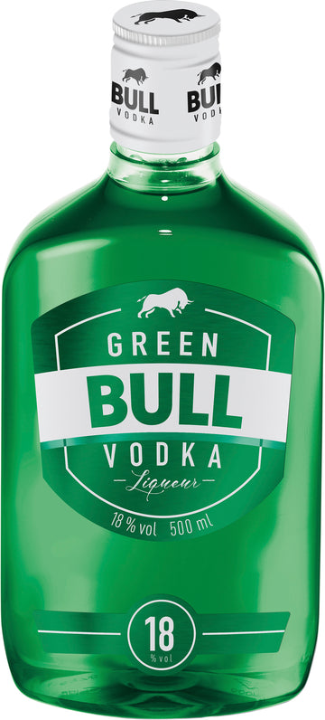 Green Bull Vodka 50Cl Pet 18% Vol.