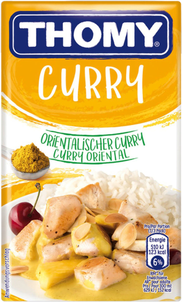 Thomy Sauce Curry 250Ml