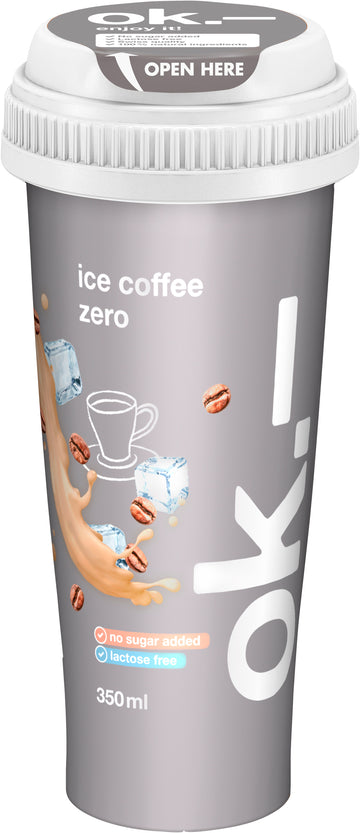 Ok.- Ice Coffee Zero 350Ml