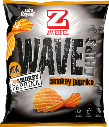 Chips Wave Smokey Paprika 120G