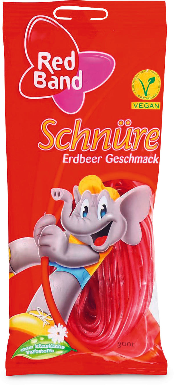 Red Band Schnüre Rot 100 G