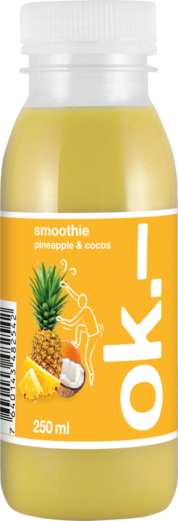 Ok.- Smoothie Pineapple & Cocos 250Ml