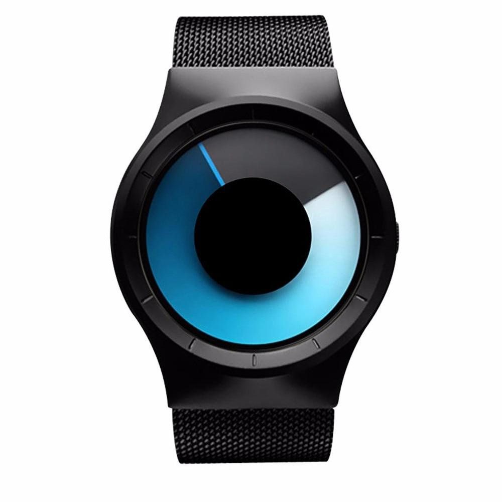 L6002 Quartz Led Futuristic Watch