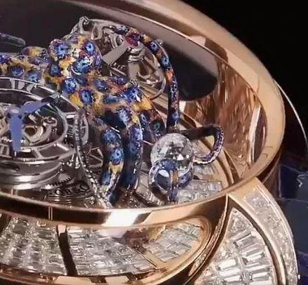 Unique Collection Blue Crystal Diamond look Luxury Analog Watches