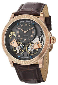 Automatic Skeleton Rose Tone Brown
