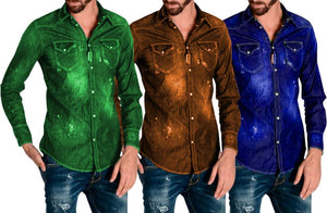 Pack of 3  casual Stylish Solid Comfortable Shirts for Men