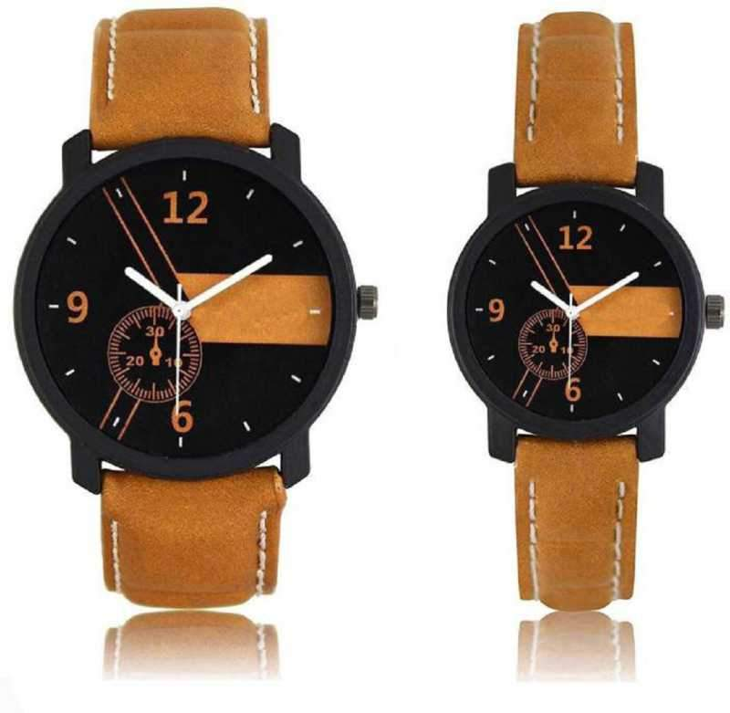 Stylish And Attractive Designer Couple Watch Combo For Men And Women Watch - For Couple Analog Watch - For Men & Women