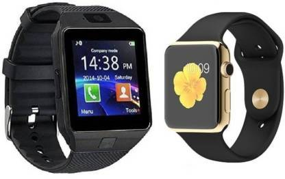 COMBO 4G Calling Smartwatch Black Smartwatch  (Black Strap FREE SIZE)