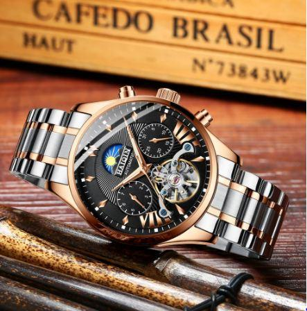 mens watches top brand luxury automatic/mechanical/luxury watch men sport wristwatch mens