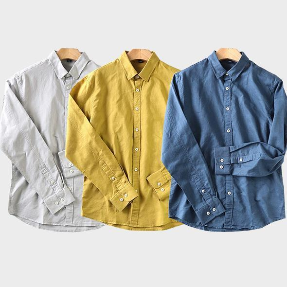 Pack of 3 Casual Shirts for Men