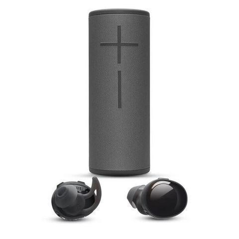 BOOM 2 BLUETOOTH SPEAKER & CORD-FREE FITNESS EARBUDS