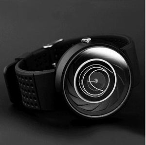 men's gift Enmex creative industrial design Lens and prism wristwatch digital design light sports fashion quartz watches