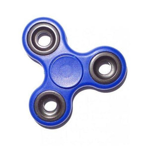Smart Watch With Tri Fidget Spinner - Black and Blue