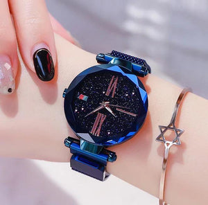 Luxury Women Watches Sky Dial Analog Quartz Watch Waterproof Wrist Watches for Ladies