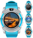 COMBO 4G Calling Smartwatch GREEN, GOLD Smartwatch  (Blue, Green Strap FREE SIZE)