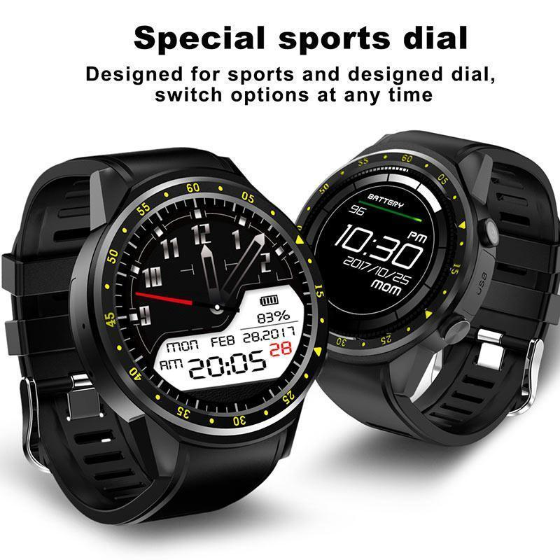 New GPS Technology Smart Watch Men With SIM Card